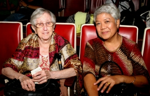 (L) Rev. Ada Aimee Coryell, Deaf Inc. Founder and Rev. Elena Castillo, Bible Institute for the Deaf President