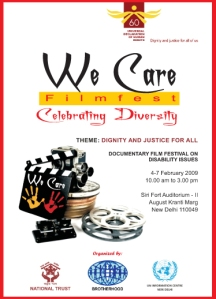 We Care Filmfest 2009