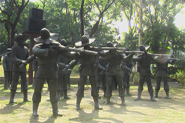 why rizal was executed by the firing squad Eight filipino soldiers armed with remingtons formed the firing squad and rizal executed that carefully choreographed twist that he had practiced years.