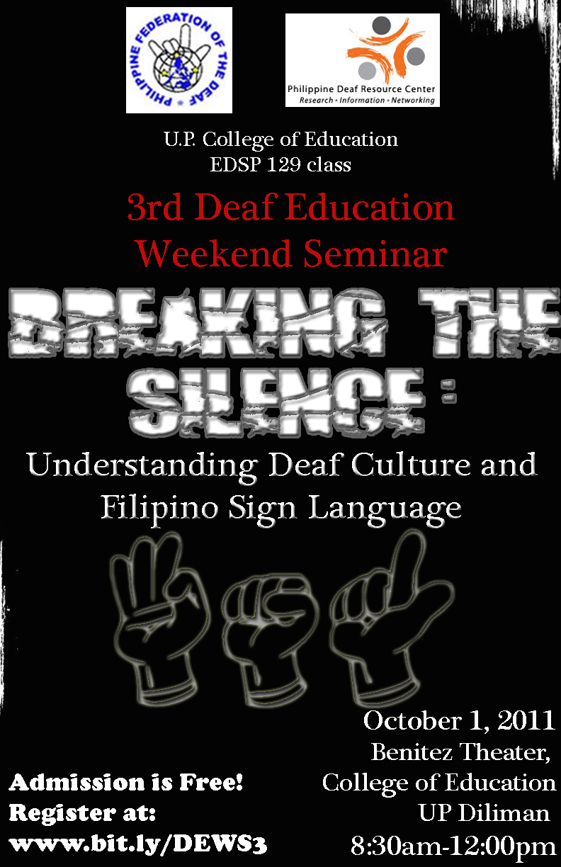 understanding the aspects of deaf culture This is a course to provide students an introduction to the unique aspects of deaf culture and deaf community this course provides in-depth discussion of the beliefs.