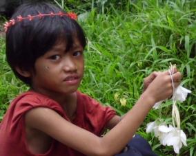 Camia Flower child vendor
