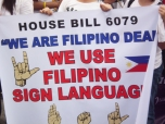 Fight for Deaf Linguistic Human Rights
