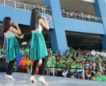 The duo wows the audience