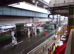 Taft Avenue during Typhoon-Sept