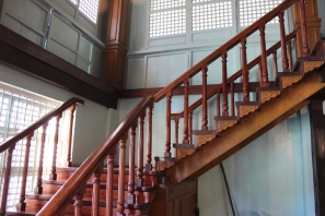 Stairs Leading to the Second Floor