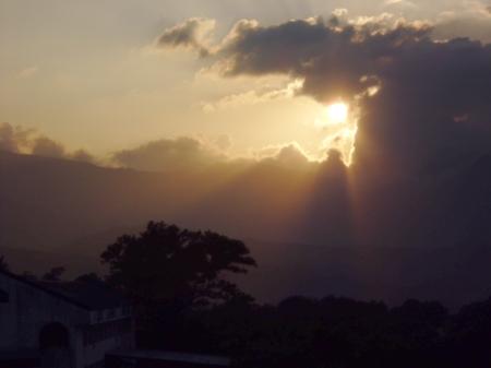 Sunset in Balaybay