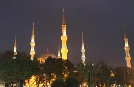 Sultanahmet Minarets