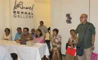 Audience attentive to Dr. Padilla