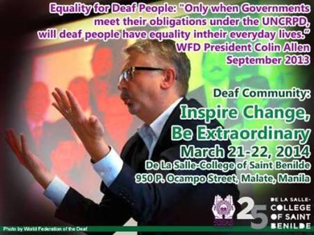 WFD PRES in Manila