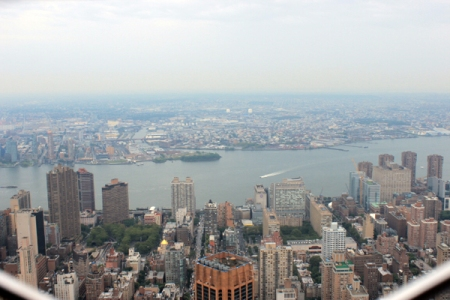 View fr Empire State Bldg
