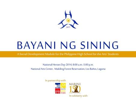 Bayani ng Sining_25 August 2014