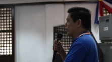 Angelo Aguinaldo Welcomes the Visitors