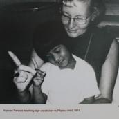 PC teaches Deaf child