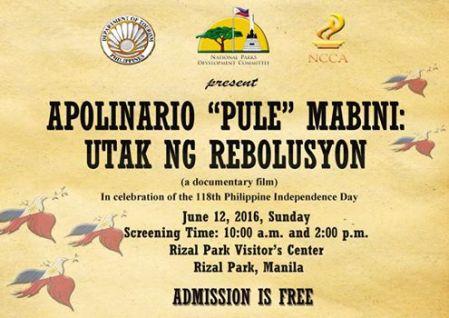 PULE at Rizal Park