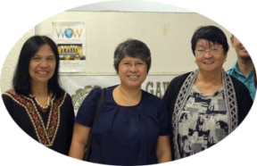 [Extreme Right]: Ex-DSWD Secretary Judy graced the occasion; Mirana on the extreme left