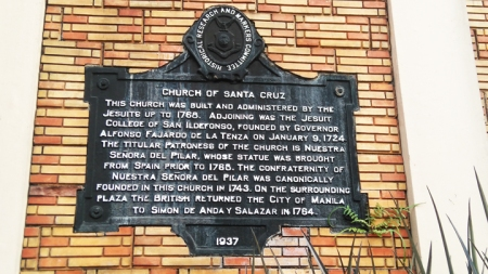 Sta Cruz Marker